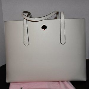 Kate Spade  Molly Cabana Dot Pop Large Tote & Zipp